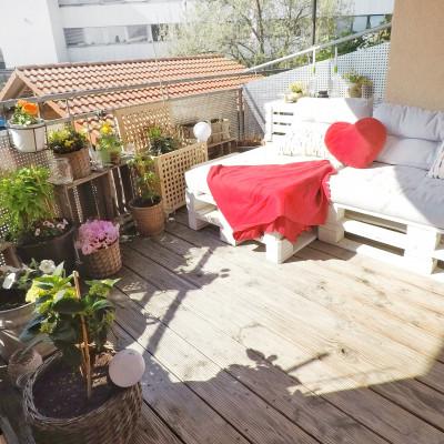 DIY – Balkon Oase