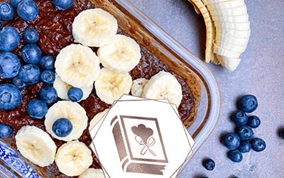 Frühstücks-Porridge-Kuchen