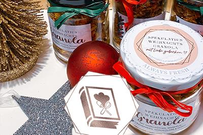Weihnachts-Granola mit Spekulatius