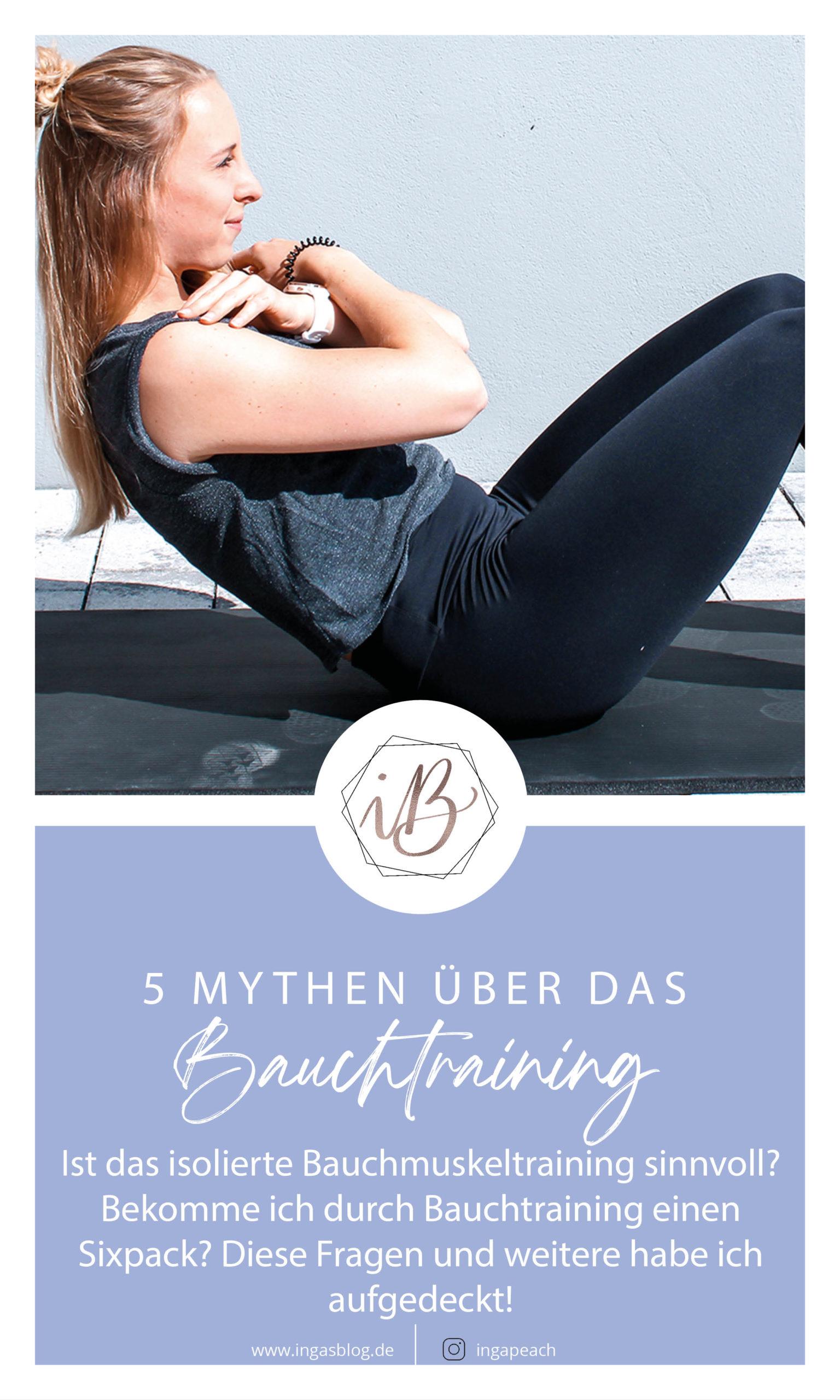 5 Mythen über das Bauchmuskeltraining
