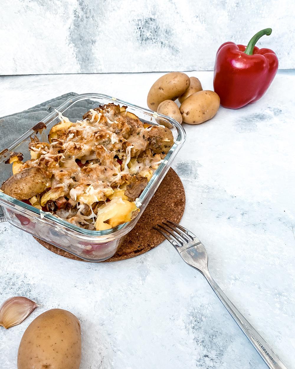 Kartoffel Hähnchen Auflauf 1