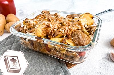 Kartoffel Hähnchen Auflauf